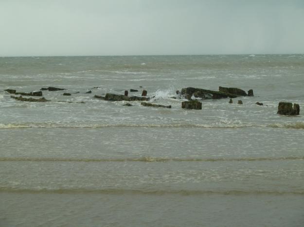 The shipwrecks of Zuydcoote
